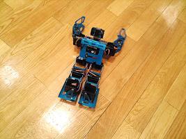 ロボット実演の写真