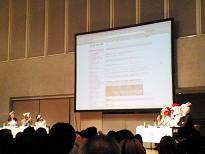 ブログコンテスト&座談会の様子