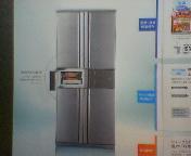 ホット庫つき冷蔵庫